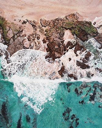 Oceans Edge - Canvas Print