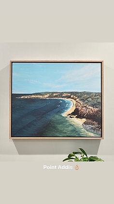 Point Addis in Summer Limited Edition Print