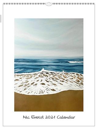 2021 Nic Everist Calendar (Seascapes)
