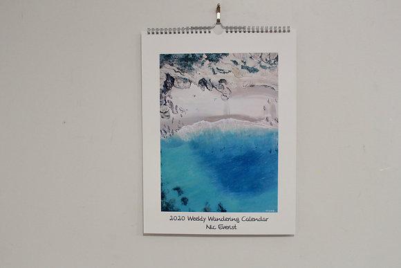 Weekly Wandering With Nic 2020 Calendar