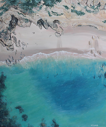 Point Addis Aerial View Limited Edition Print
