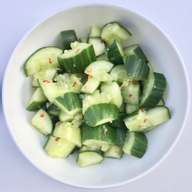 Simple & Refreshing Smashed Cucumber Salad Recipe