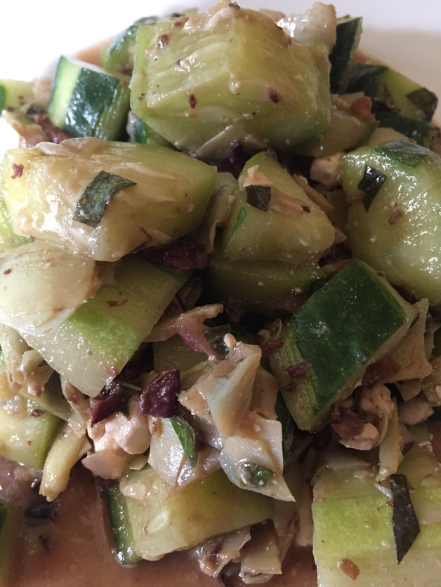 Late Summer Cucumber Salad Recipe
