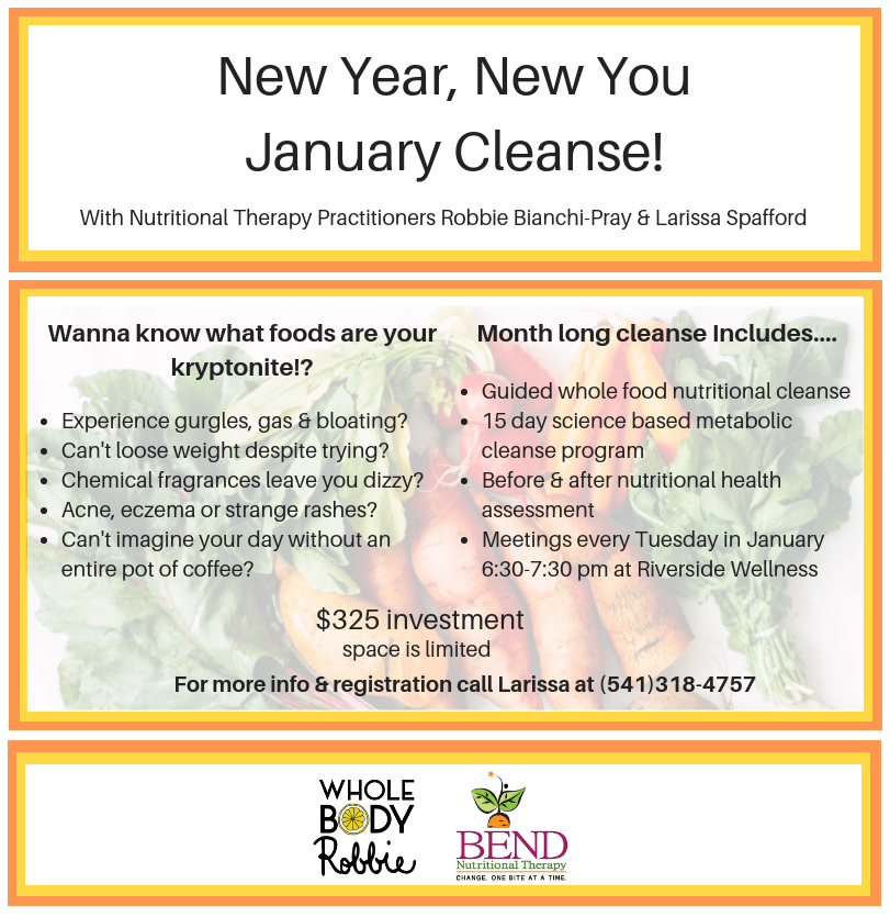 New Year, New You January Cleanse