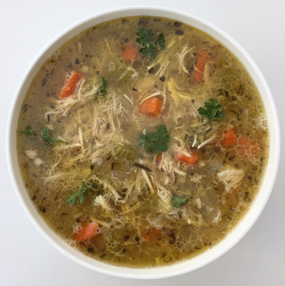 Chicken Soup with Lemon & Herbs | Bend Nutritional Therapy