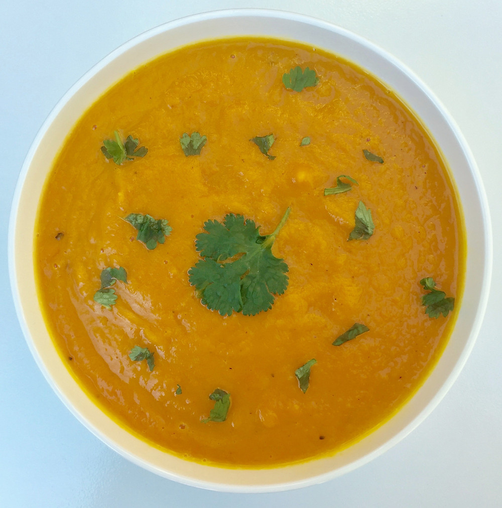 Roasted Carrot Ginger Soup | Bend Nutritional Therapy