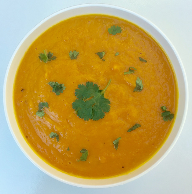 Immune Boosting Roasted Carrot Ginger Soup Recipe