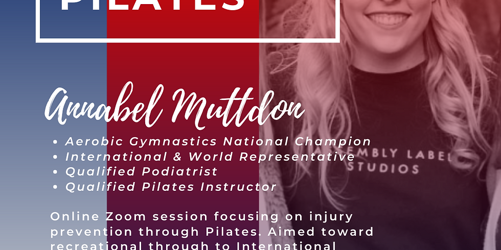 Pilates - Pre-habilitation and injury prevention
