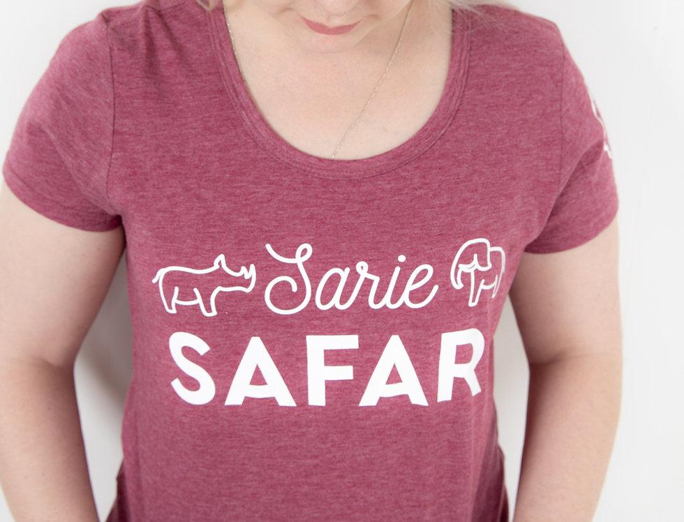 Sarie Safari - Maroon hemde