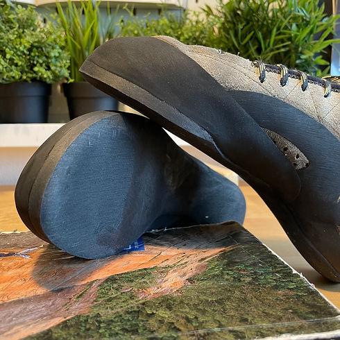 Climbing shoe resole TC Pro