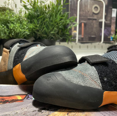 Resoled and repaired Scarpa Force V