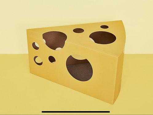 Cheese Cat House + Scratcher