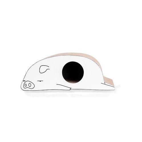 piggy shaped scracher (L)