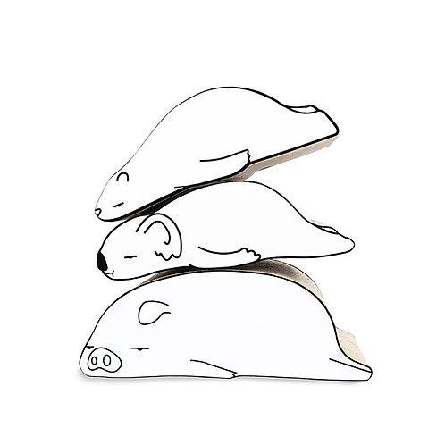 koala shaped scracher (L)