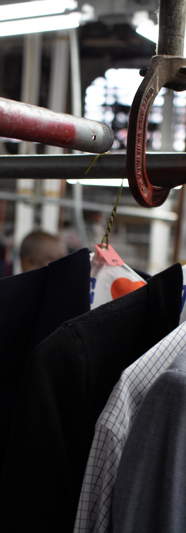 Suits Cleaning Process