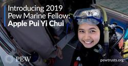 Dr. Apple Chui, aPew Marine Fellow.