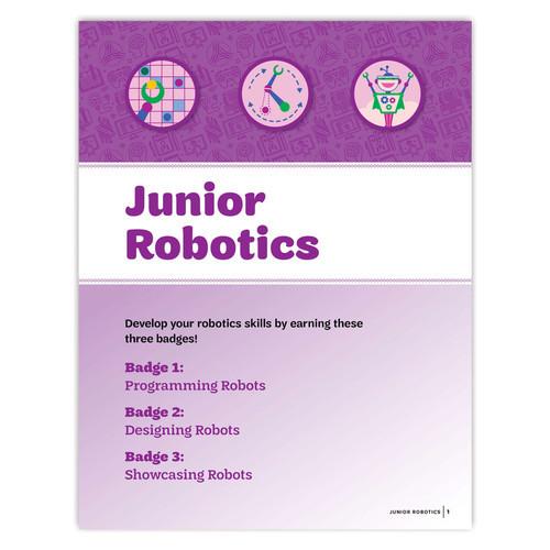 Junior Girl Scout Robotics Badge 2