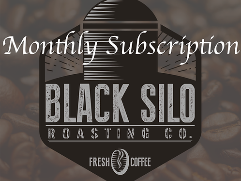 1 Bag Monthly Coffee Fix!