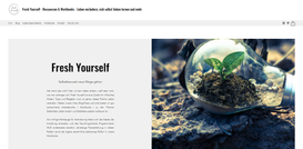 Fresh Yourself aus Nürnberg  Design, Texte, SEO, technische Umsetzung, Marketing