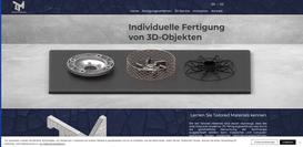 Tailored Materials aus Aachen  Konzept, SEO, technische Umsetzung