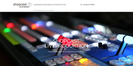 Shopcast Liveproduktion aus Hennef   Design, Texte, SEO, technische Umsetzung