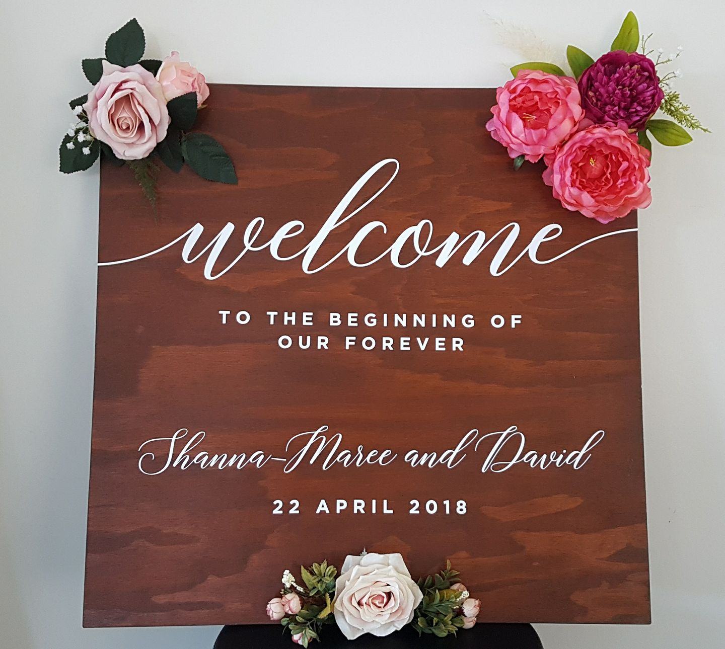 wedding sign example