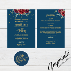 Blue and gold wedding invites-01
