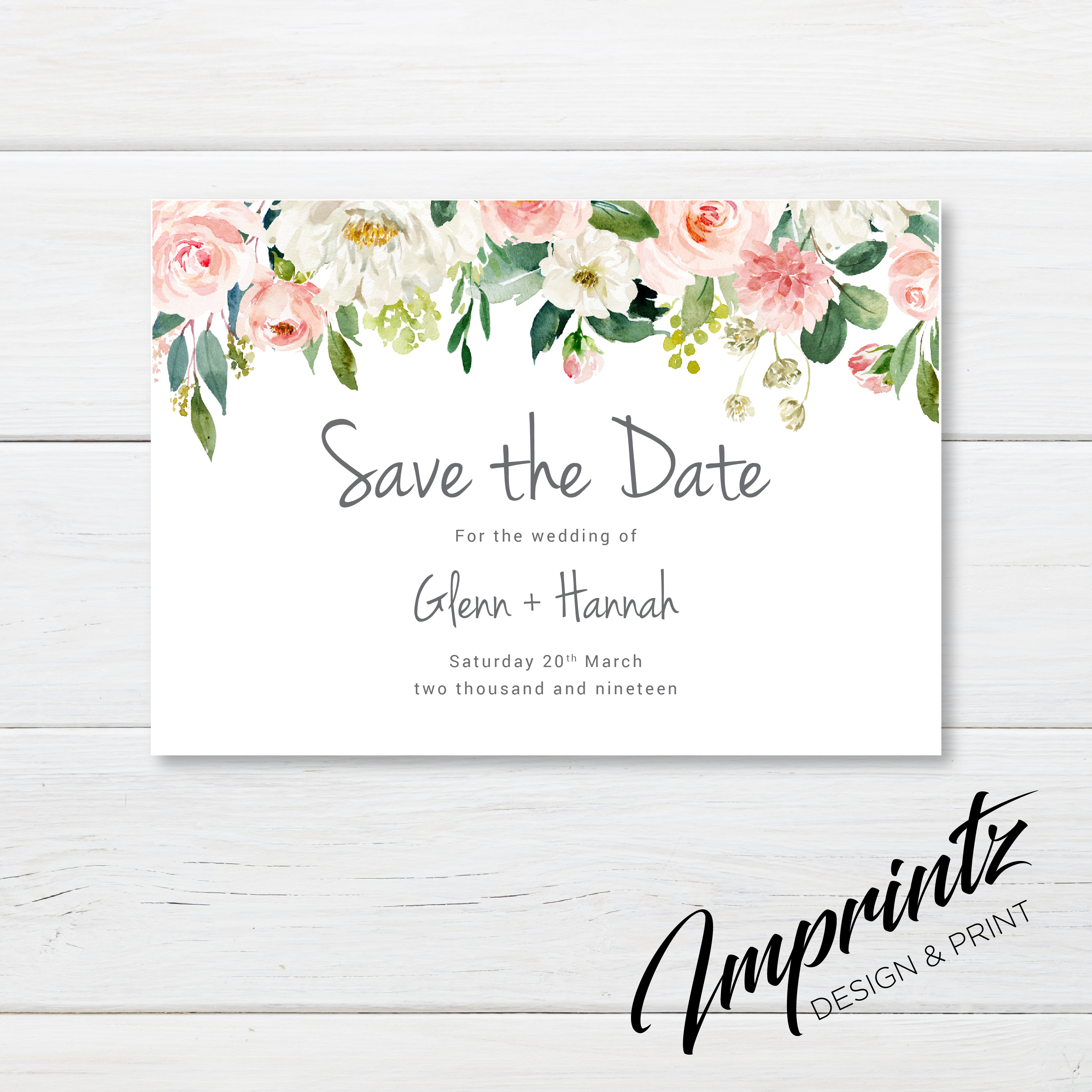 Save the date - pink-01