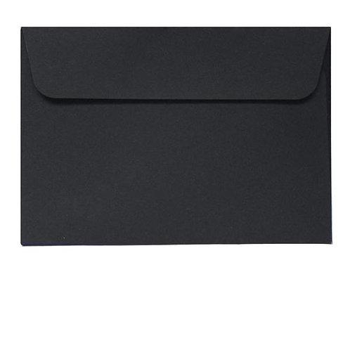 Black A6 Envelope