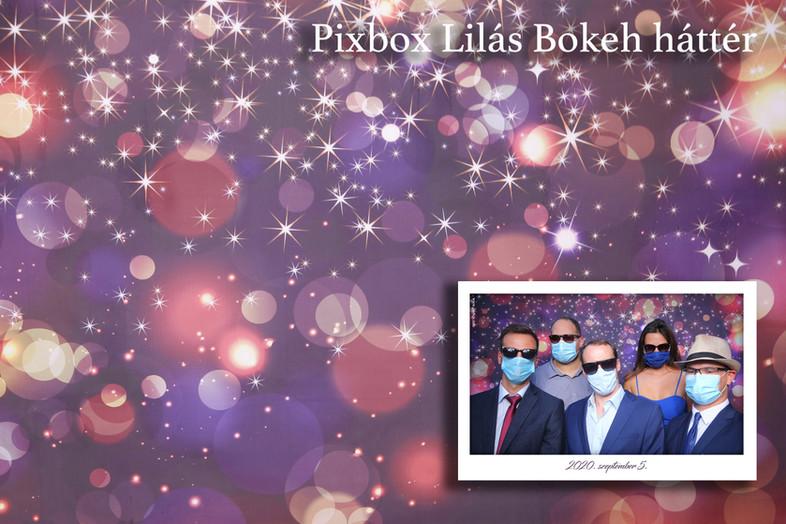 PIXBOX selfie-gép háttér