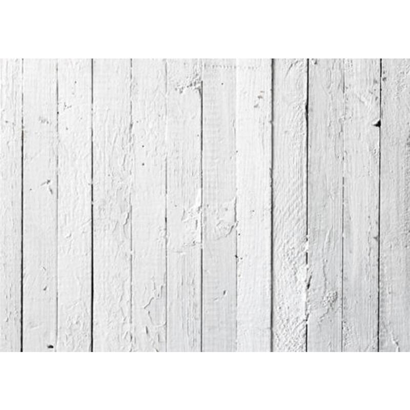 Fehér vékonyabb deszkás fal