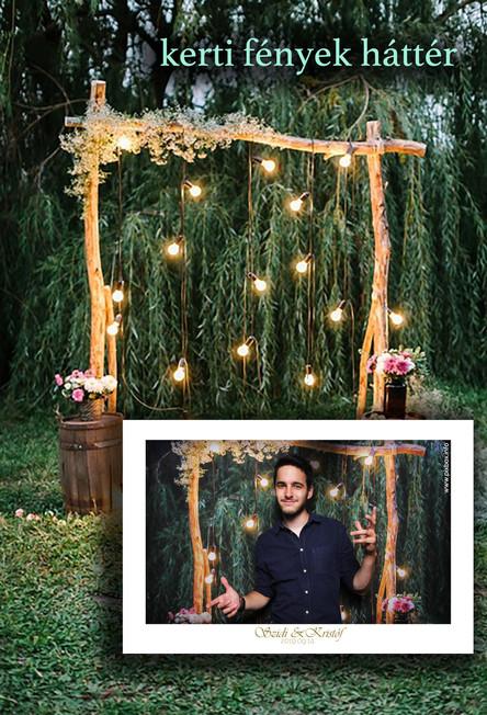 PIXBOX selfiebox háttér kertifények