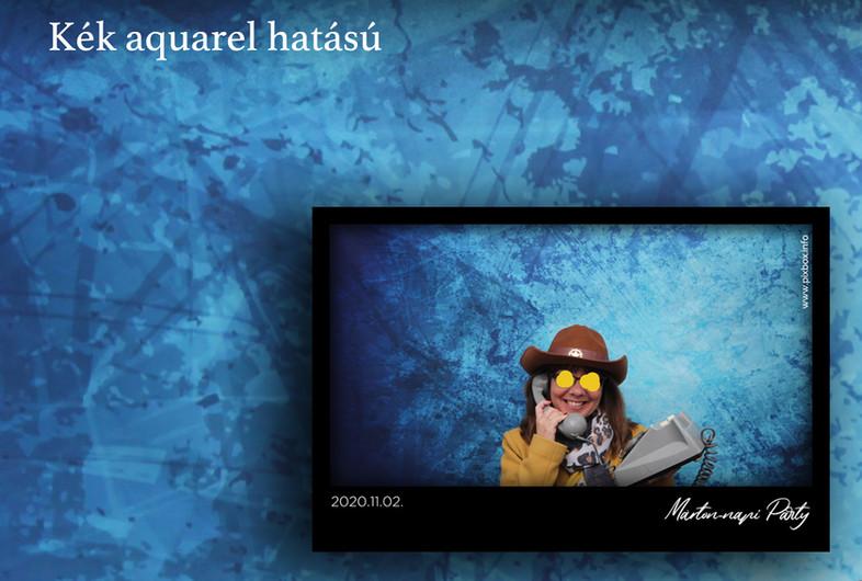 Kék aquarel hatású háttér