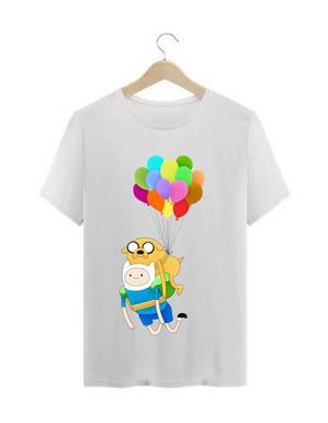 Camiseta Hora de Aventura / Fin e jake
