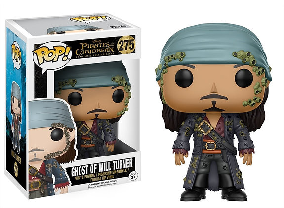 Boneco Funko POP Pirates of the Caribbean Ghost of Will Turner
