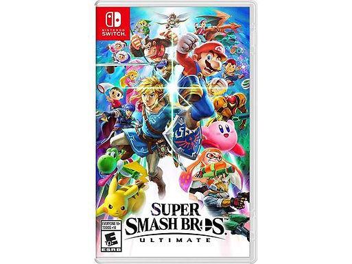 Super Smash Bros. Ultimate - Nintendo Switch/Mídia Física