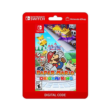 Paper Mario The Origami King - Nintendo Switch Código 16 Dígitos/Mídia Digital