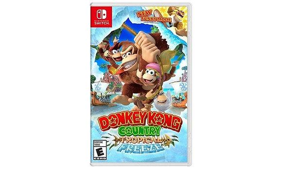 Donkey Kong Tropical Freeze - Nintendo Switch/Mídia Física