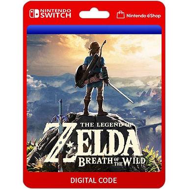 The Legend of Zelda Breath of the Wild - Nintendo Switch Código 16 Dígitos