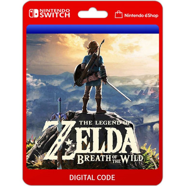 The Legend of Zelda Breath of the Wild - Nintendo Switch Código 16 Dígitos