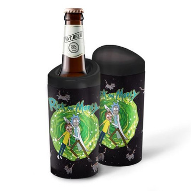 Porta Garrafa Térmico 600ml Rick and Morty CATS