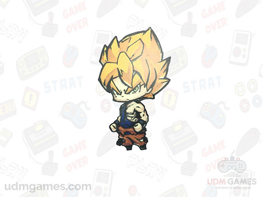 Dragon Ball - Goku Super Saiyajin /Imãs
