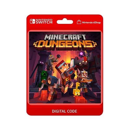 Edição do Herói do Minecraft Dungeons - Nintendo Switch