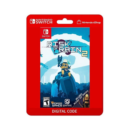 Risk of Rain 2 - Nintendo Switch Código 16 Dígitos