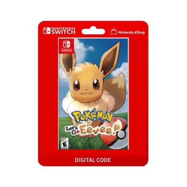 Pokémon Let's Go, Eevee! - Nintendo Switch Código 16 Dígitos Código