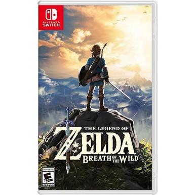 The Legend Of Zelda: Breath Of The Wild - Switch/Mídia Física