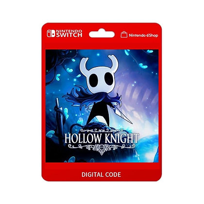 Hollow Knight - Nintendo Switch Código 16 Dígitos