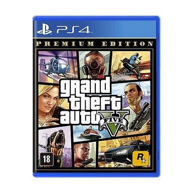 Grand Theft Auto V (GTA 5) Premium Edition/Mídia Física