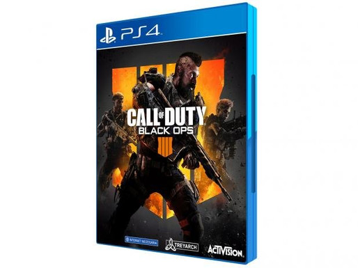 Call of Duty Black Ops 4 para PS4/Mídia Física