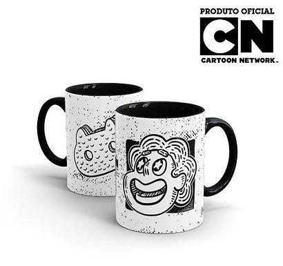 Caneca Cartoon Network OFF Steven Cat